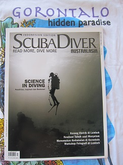 Finding peace with Scuba Diver Australasia Indonesia