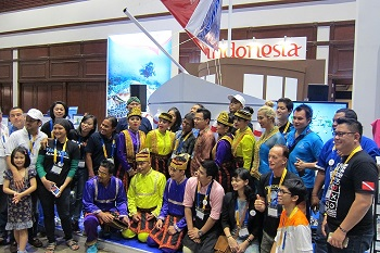 Thai Dive Expo 2016 delegation