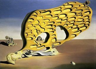 Salvador Dali mural