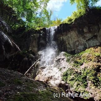 jungle trekking to water fall
